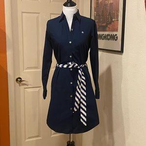 LAUREN RALPH LAUREN Navy shirtdress